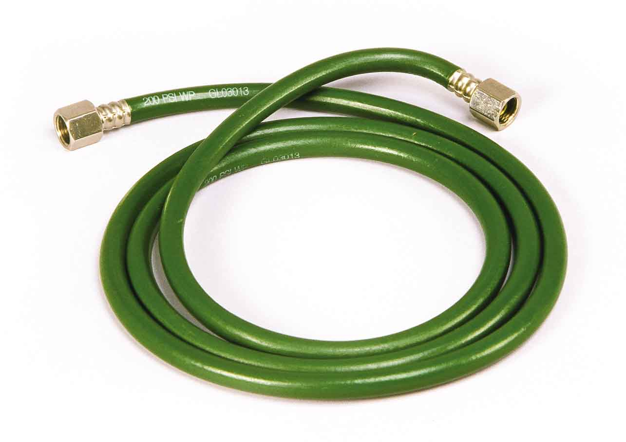 O2 Hose with 1 Male & 1 Female Fitting, 1.8 m/6 ft.