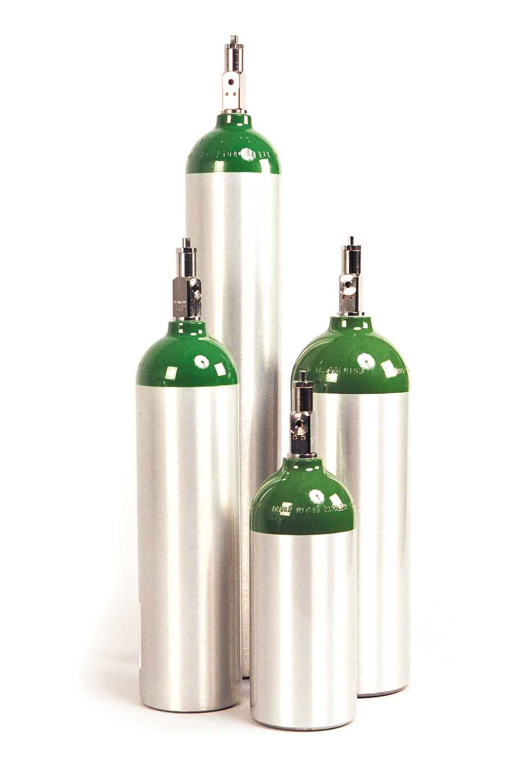 M60 Size Cylinder (1.723 Liters) CGA 540